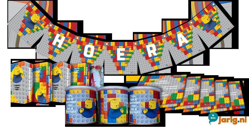 jarig nl Lego traktaties en uitnodigingen   Ik ben jarig.nl jarig nl