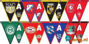 voetbalclub logo vlaggetjes