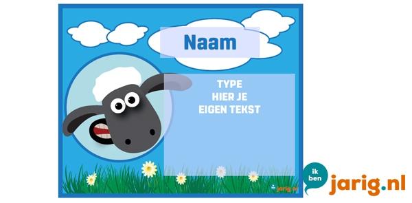 jarig nl Shaun het Schaap uitnodiging   Ik ben jarig.nl jarig nl